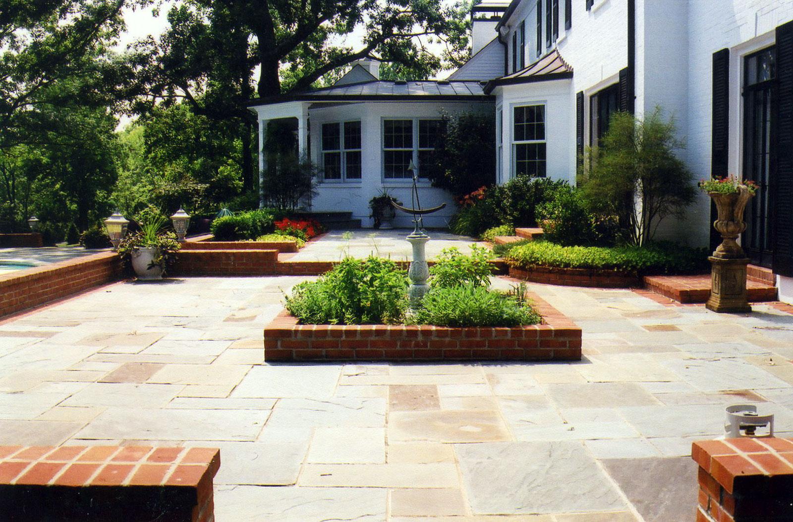 Martha wassermann landscape design portfolio for Terrace kitchen garden